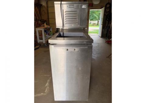 Modular Meat Freezer Fast Food Grill HCMF18C-01P, High Capacity